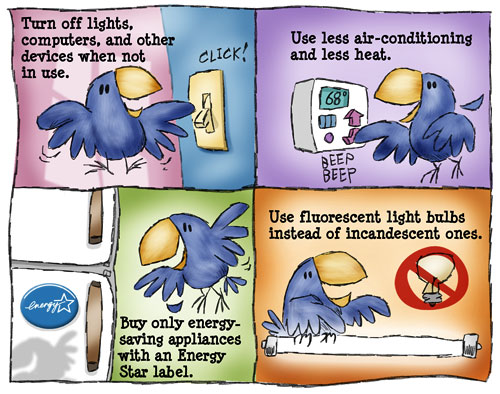 energy tips Infotoons