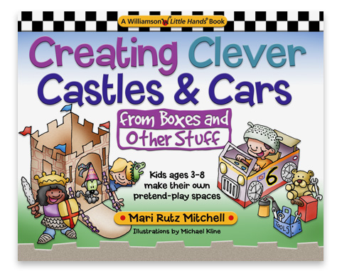 A wonderful book on creativity by Mari Rutz Mitchell, employing one of my all-time favorite toys, the ubiquitous cardboard box. Illustrations by Michael Kline.